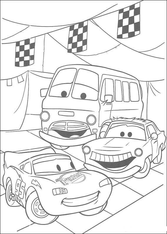 Coloring Cartoon Wheelbarrows Free Print
