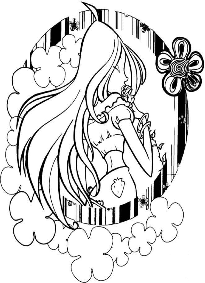 melodie the music fairy coloring pages   Coloring fairies, pixies Winx, Winx coloring muse, Stella ...